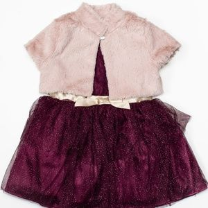 Little Lass Dresses - Little Lass 2pc Toddler Girl Dress 2T
